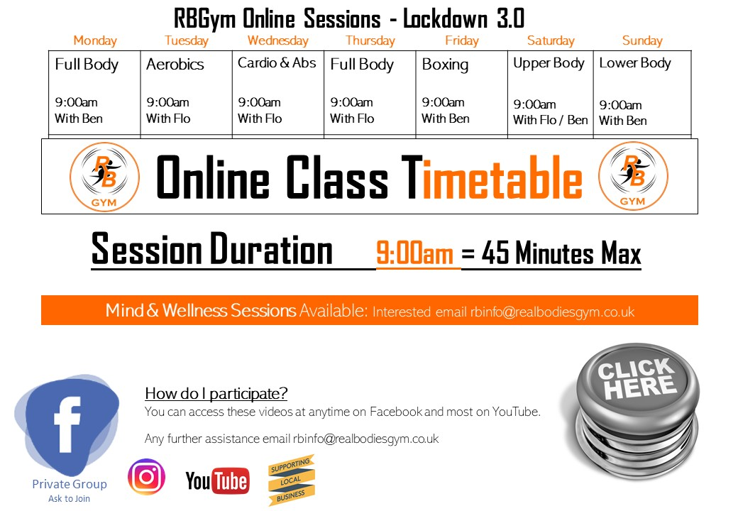Online Time Table Jan 2021