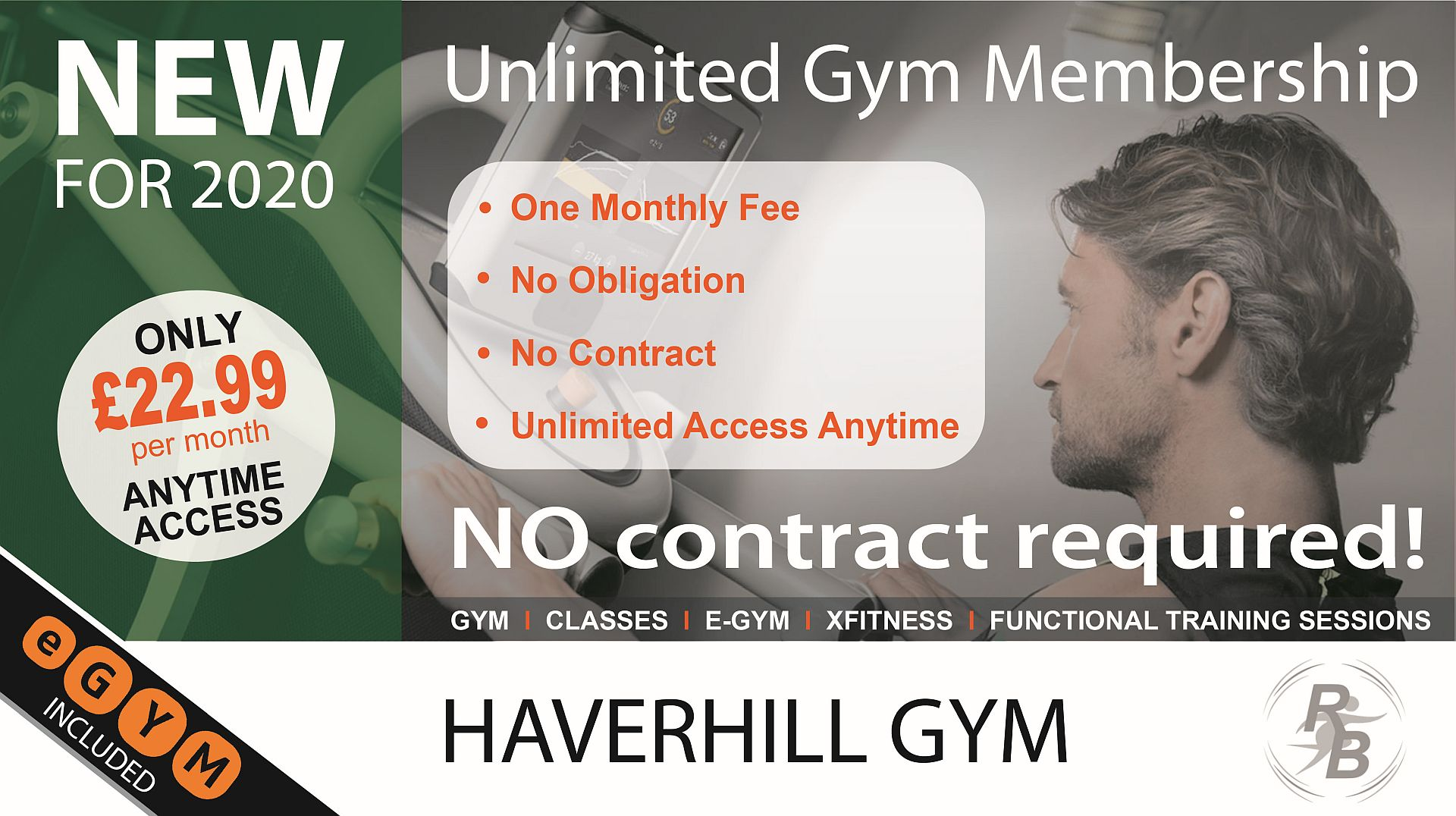 Unlimited Gym Membership